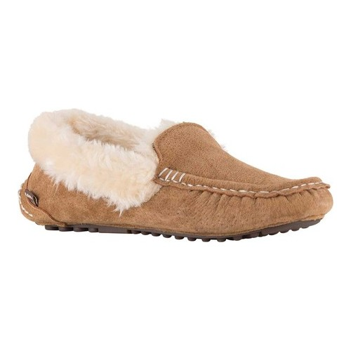 Women's Lamo Aussie Moccasin Slipper by JORDACHE LTD