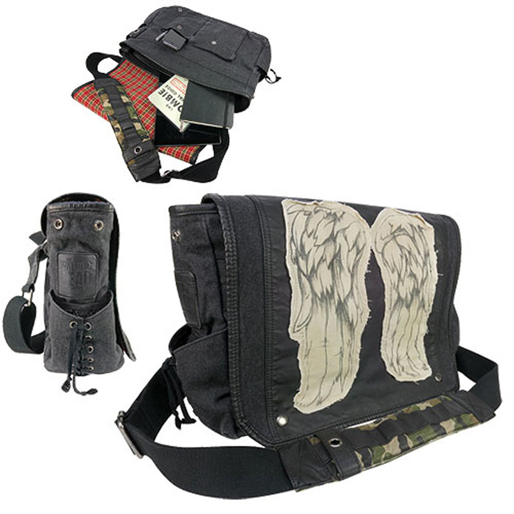 "The Walking Dead Daryl Dixon ""Wings"" Messenger Bag"