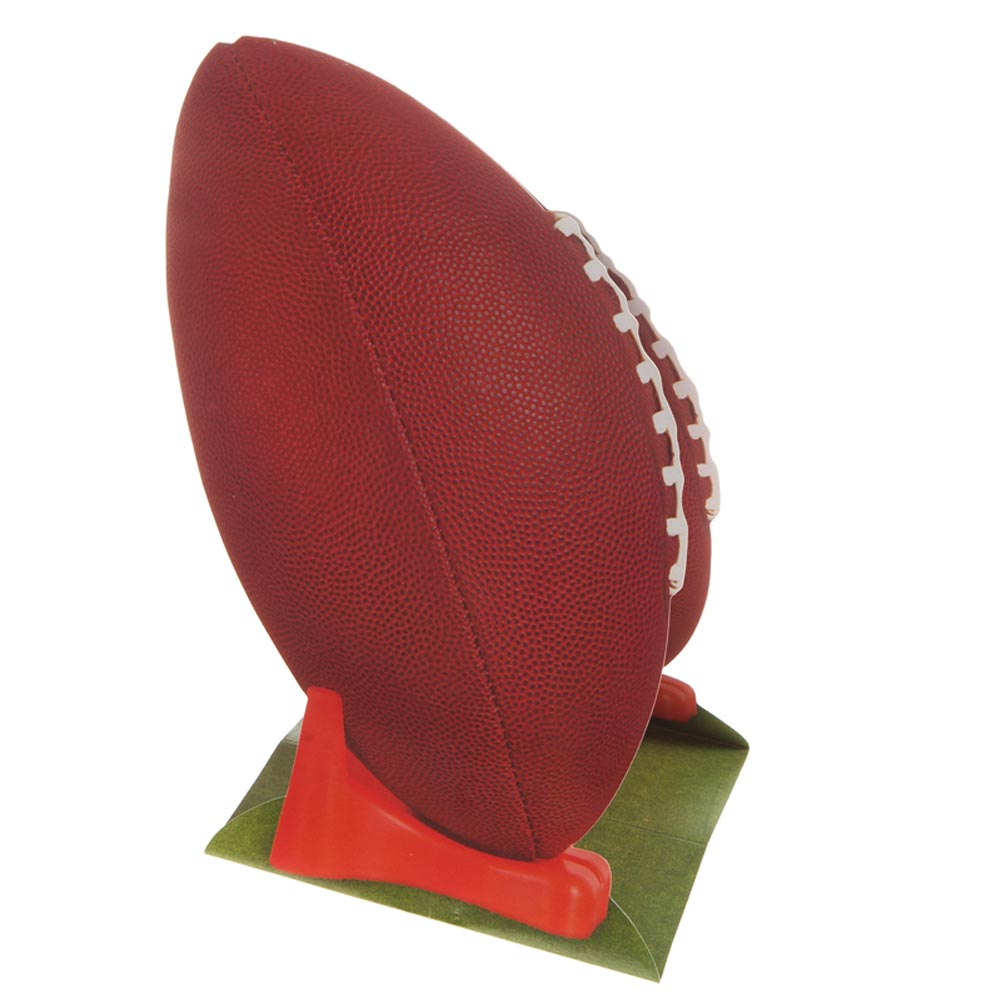 "3-D Football Centerpiece - 11"""" Case Pack 12"