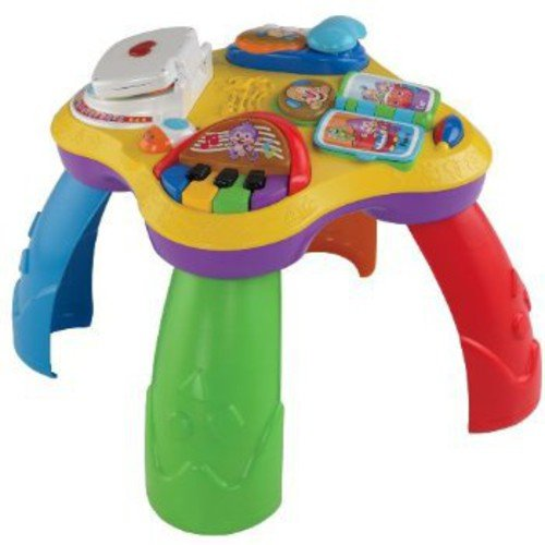 fisher price laugh learn puppy pals learning table walmart
