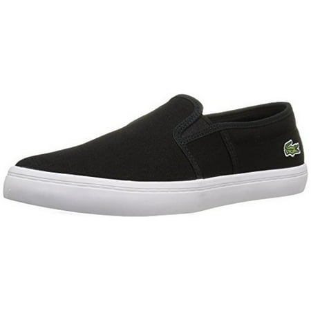 Lacoste Womens GAZON BL 2 SPW, BLACK, 9.5