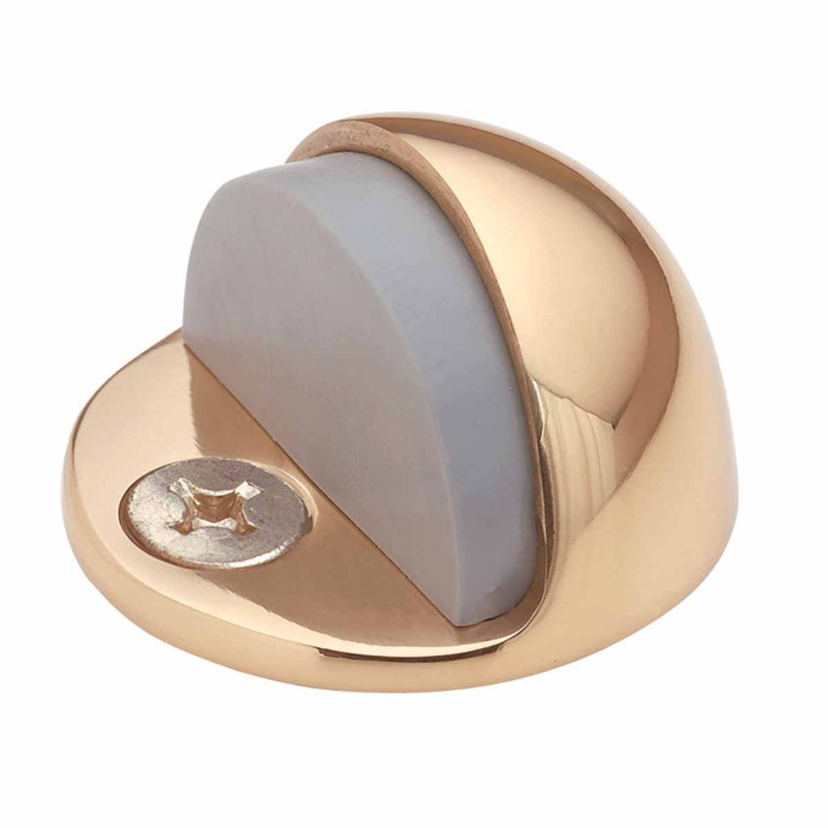 Brass Door Stop Dome Floor Mount Bumper | Renovator's Supply