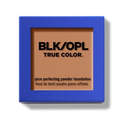Black Opal True Color Pore Perfecting Powder Foundation, Rich Caramel (Black Trike)