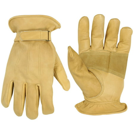 CLC Work Gear 2058L Large Top Grain Cowhide Driver Men's Work Gloves