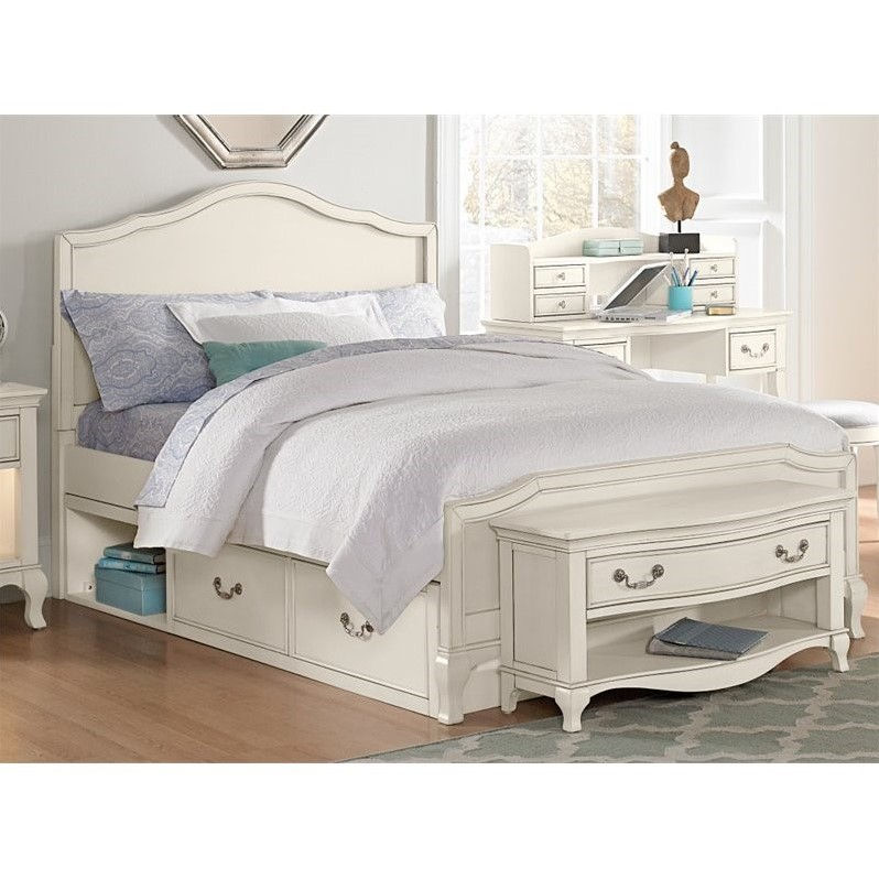 NE Kids Kensington Charlotte Twin Panel Storage Bed in