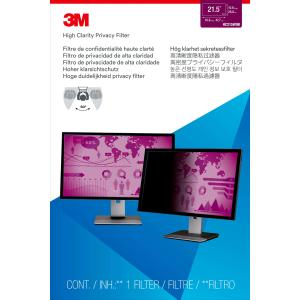 """3M High Clarity Privacy Filter for 21.5"""" Widescreen Monitor"""