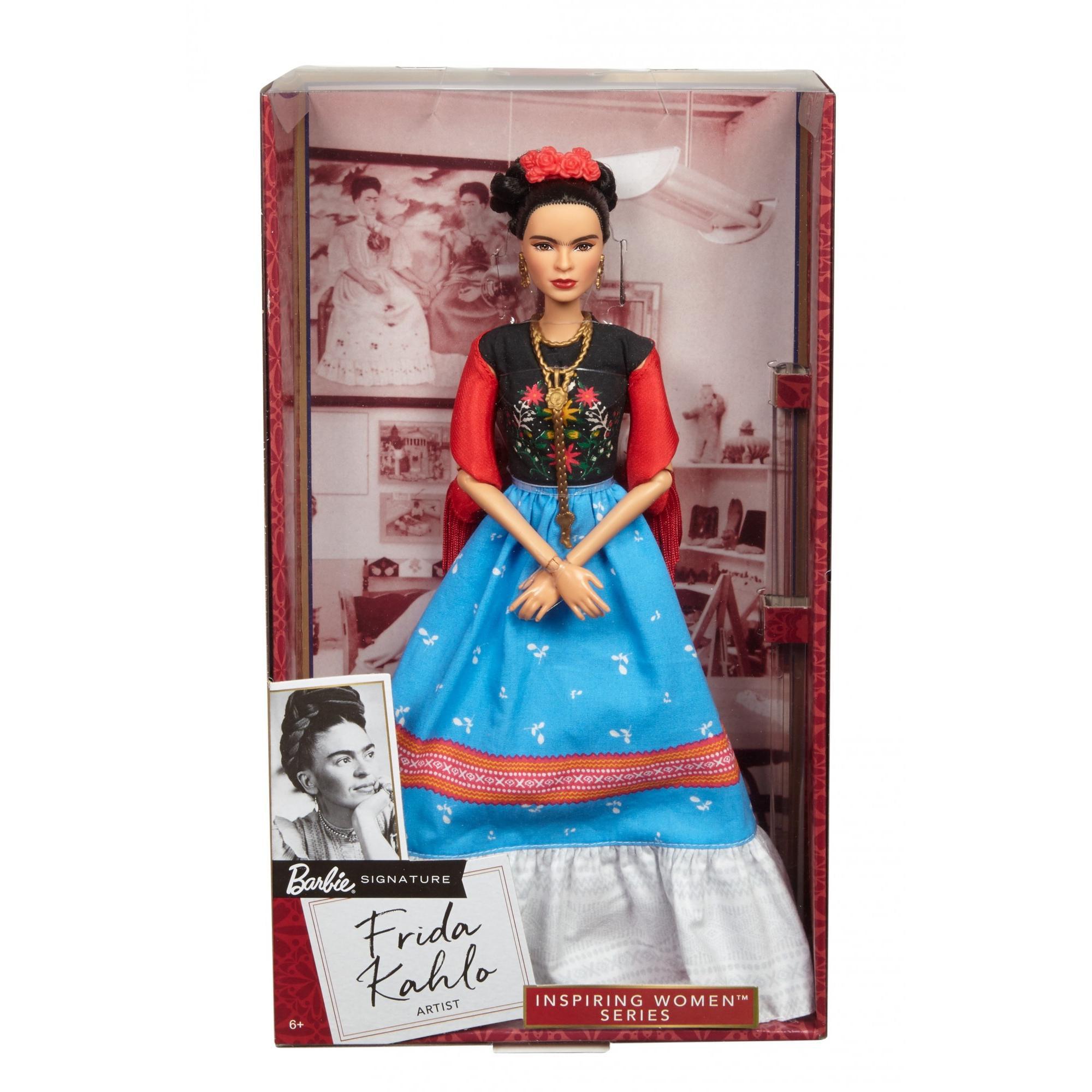 Barbie Inspiring Women Series Frida Kahlo Doll Walmart