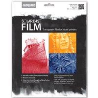 Jacquard SolarFast Film, 8.5in x 11in, 8 Sheets/Pkg.