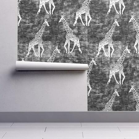 Wallpaper Roll or Sample: Safari Animal Giraffe Grunge Holli Zollinger](Halloween Themed Anime Wallpaper)