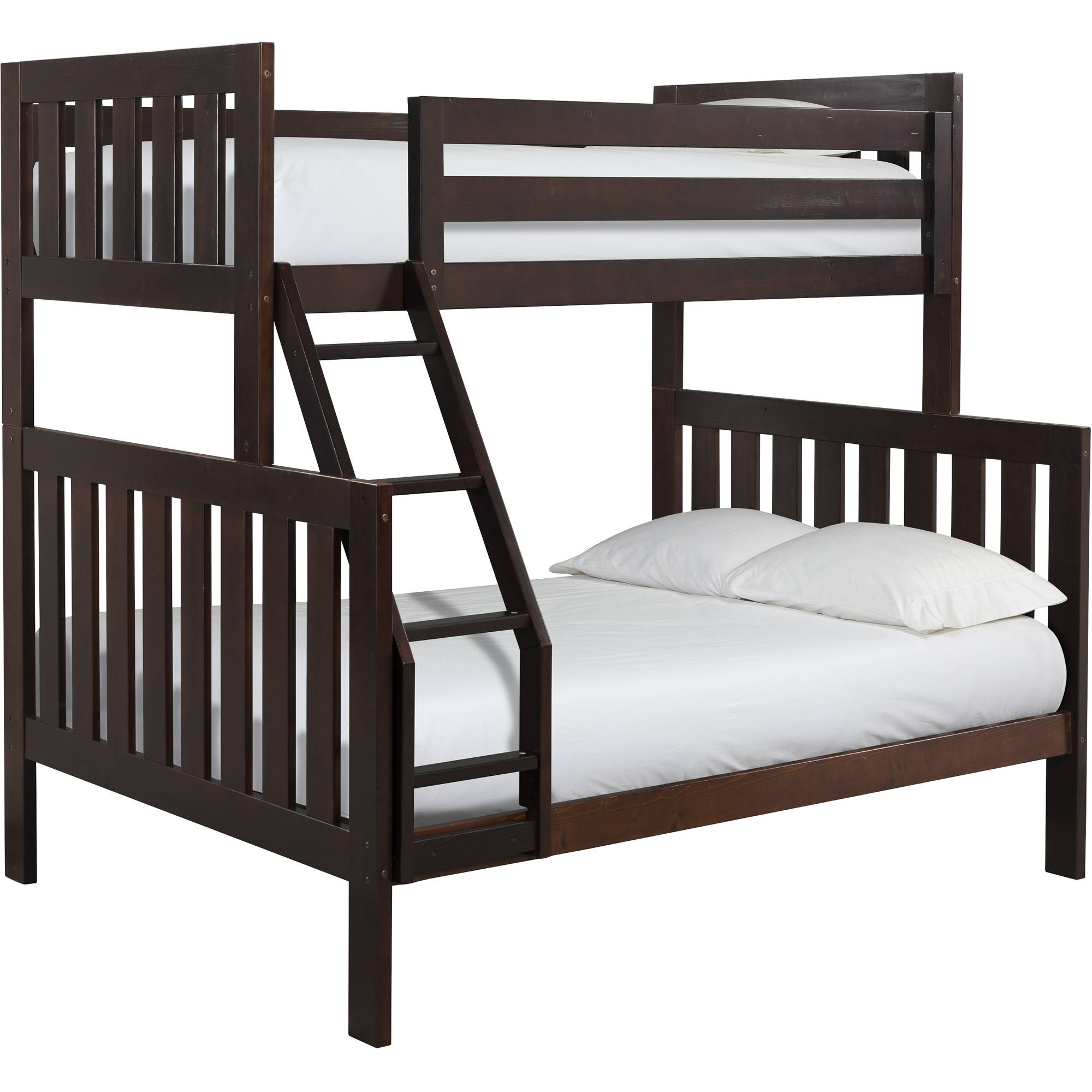 Canwood Lakecrest Twin Over Full Bunk Bed, Espresso