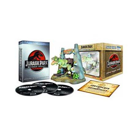 Jurassic Park Ultimate Trilogy Gift Set (Blu-ray + Digital Copy) (Jurassic Park Blu Ray Set)