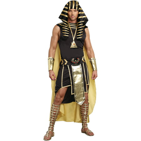 Adult Male King of Egypt Costume by Dreamgirl 9893](King Diamond Costume)