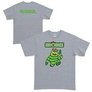 Personalized Yo Gabba Gabba! Brobee Gray Adult T-Shirt