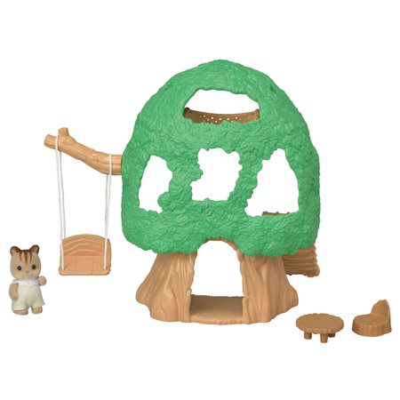 Calico Critters Baby Tree House, Ready to Play Set with Figure and Accessories