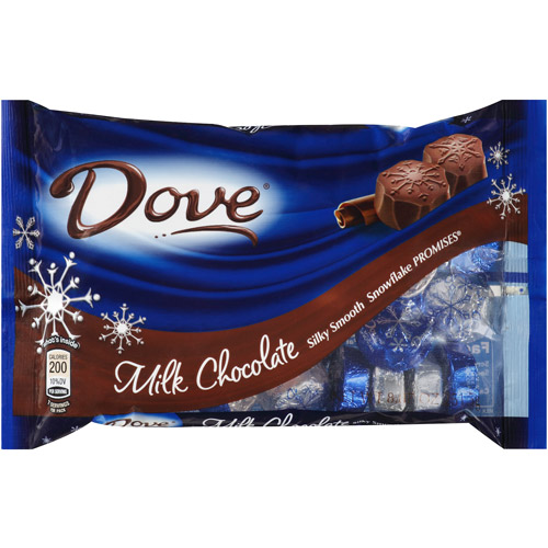 Dove Promises Milk Chocolate Snowflakes Candy, 8.87 oz