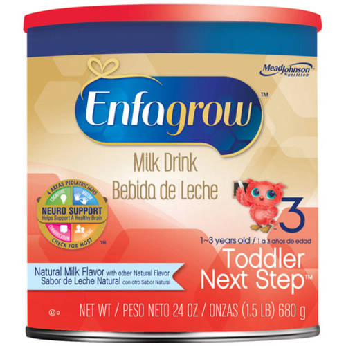 Enfagrow Toddler Next Step Natural Milk- Milk Drink, 24 oz Powder Can