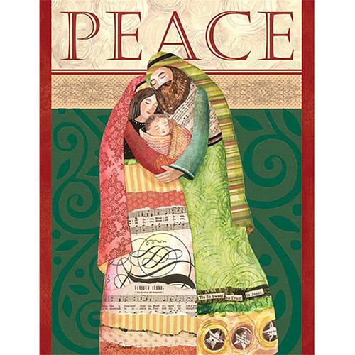 """Lang """"Be at Peace"""" Boxed Christmas Cards"""