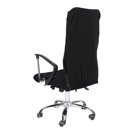 Ccdes 1Pc L/M/S Removable Stretch Swivel Chair Covers Office Armchair Comfortable Seat Slipcovers , Office Chair Slipcover,Swivel Chair Covers
