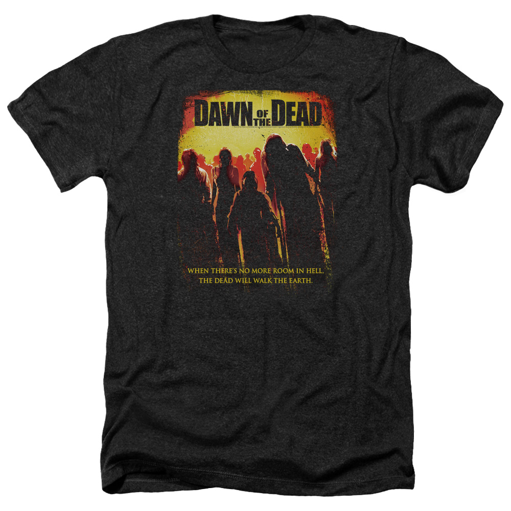 Dawn Of The Dead Title Mens Heather Shirt
