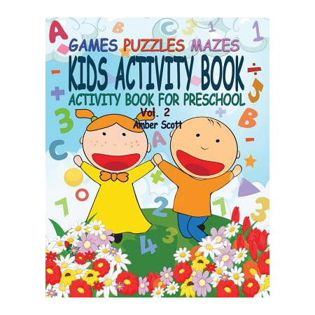 Kids Activity Book ( Activity Book for Preschool) - Vol. 2 (Preschool Language Activities For Halloween)