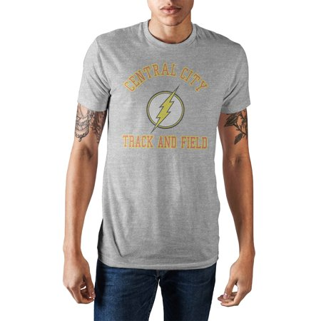 DC Comics The Flash Central City Track and Field Men's -