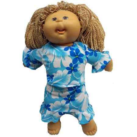 Hawaii Inspired Cabbage Patch Doll Outfit
