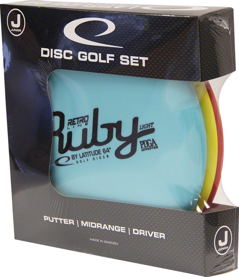 Latitude 64 Retro Junior Starter Disc Golf Set: Assorted Colors by Supplier Generic