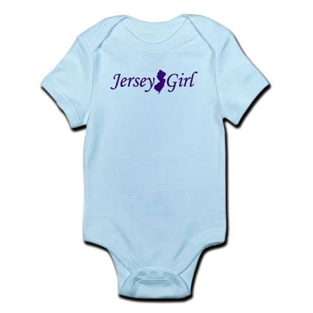 CafePress - Jersey Girl Infant Bodysuit - Baby Light Bodysuit Baby Infant Jersey Style Onesie
