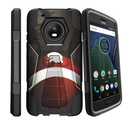 64729b04e1 Motorola Moto E4 Plus Case with Silicone Layers & Kickstand [Case for Moto  E4 Plus