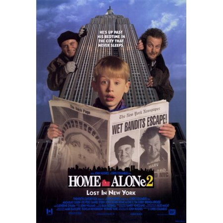 Home Alone Poster (Home Alone 2 Lost in New York Movie Poster Print (27 x)