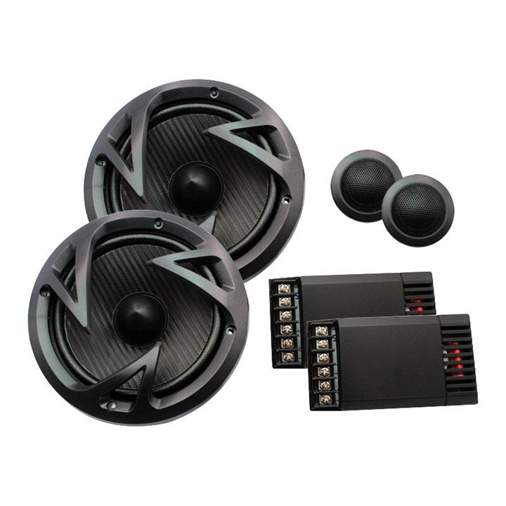 "Power Acoustik EF-60C Edge Series 6.5"" 500-Watt 2-Way Component System"