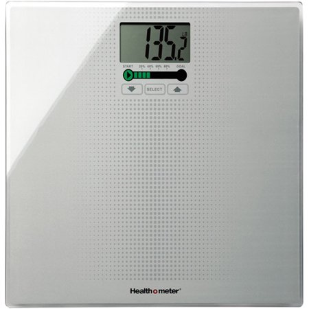 Healthometer Digital Weight Tracking Scale With Large Large Lighted Display 400 Pound Capacity