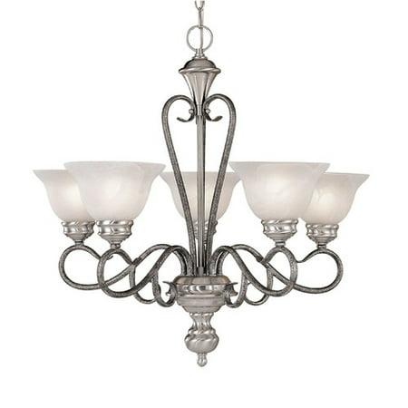 Millennium Lighting Devonshire 5-Light Shaded Chandelier