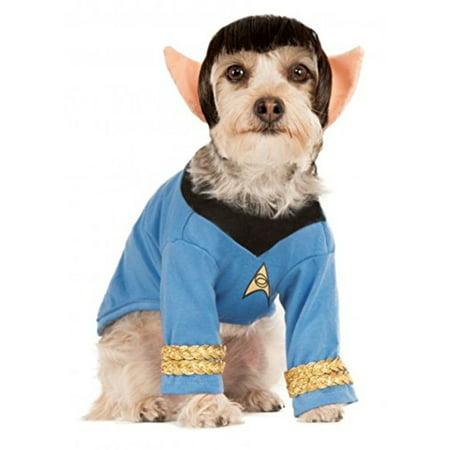 Star Trek Original Series Classic Spock Dog Costume Wig With Ears SM MD LG XL - image 1 de 1