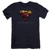 Supergirl Logo Glare Mens Premium Slim Fit Shirt