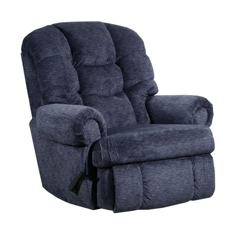 Lane Stallion Recliner.  Big Man Comfort King Recliner.  Ext Length 79 inches, Seat width 25 inches, Weight Capacity 500 lbs. Free curbside delivery.