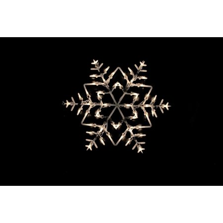 18 lighted snowflake double sided christmas window for 16 lighted snowflake christmas window silhouette decoration