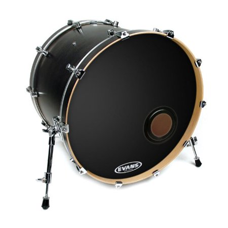 Evans REMAD Resonant Bass Drum Head, 24