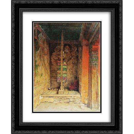 Vasily Vereshchagin 2x Matted 20x24 Black Ornate Framed Art Print