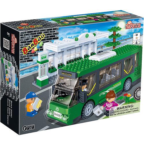 Banbao Bus Station Play Set
