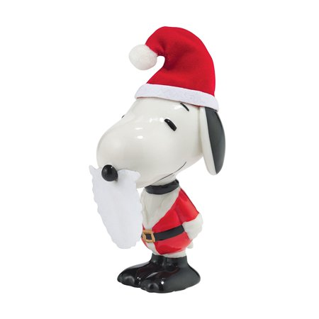 Snoopy Family Tree (Department 56 Peanuts Christmas Santa Snoopy Figurine, Department 56 has been creating seasonal memories for families since 1976 By)