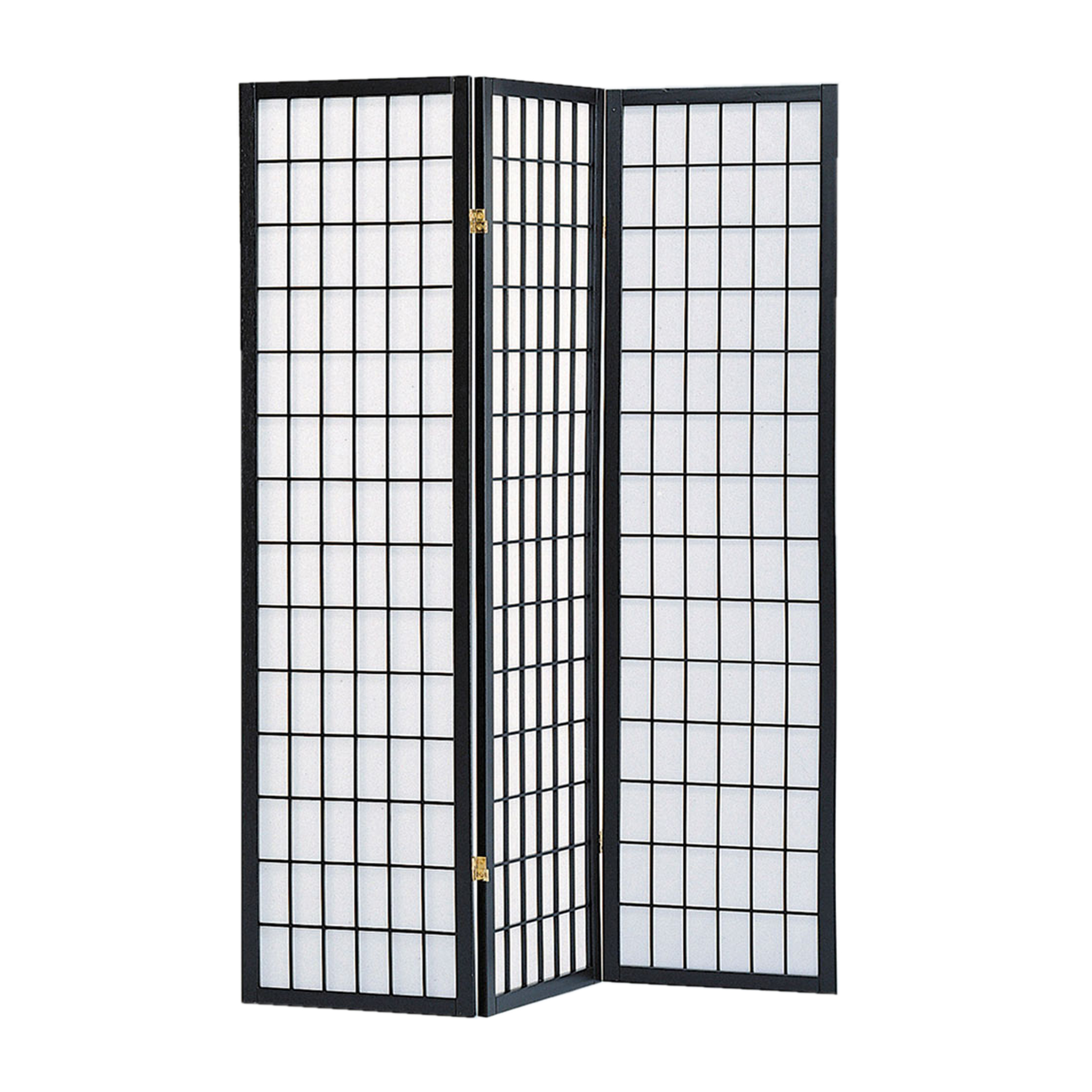 Screen Gems Shoji Screen Black SG-530