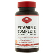 Olympian Labs Vitamin E Complete Softgels, 60 count