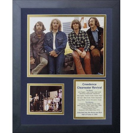 Legends Never Die Creedence Clearwater Revival Framed Memorabilia