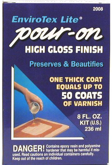 EnviroTex Lite Pour-On High Gloss Finish 8oz-