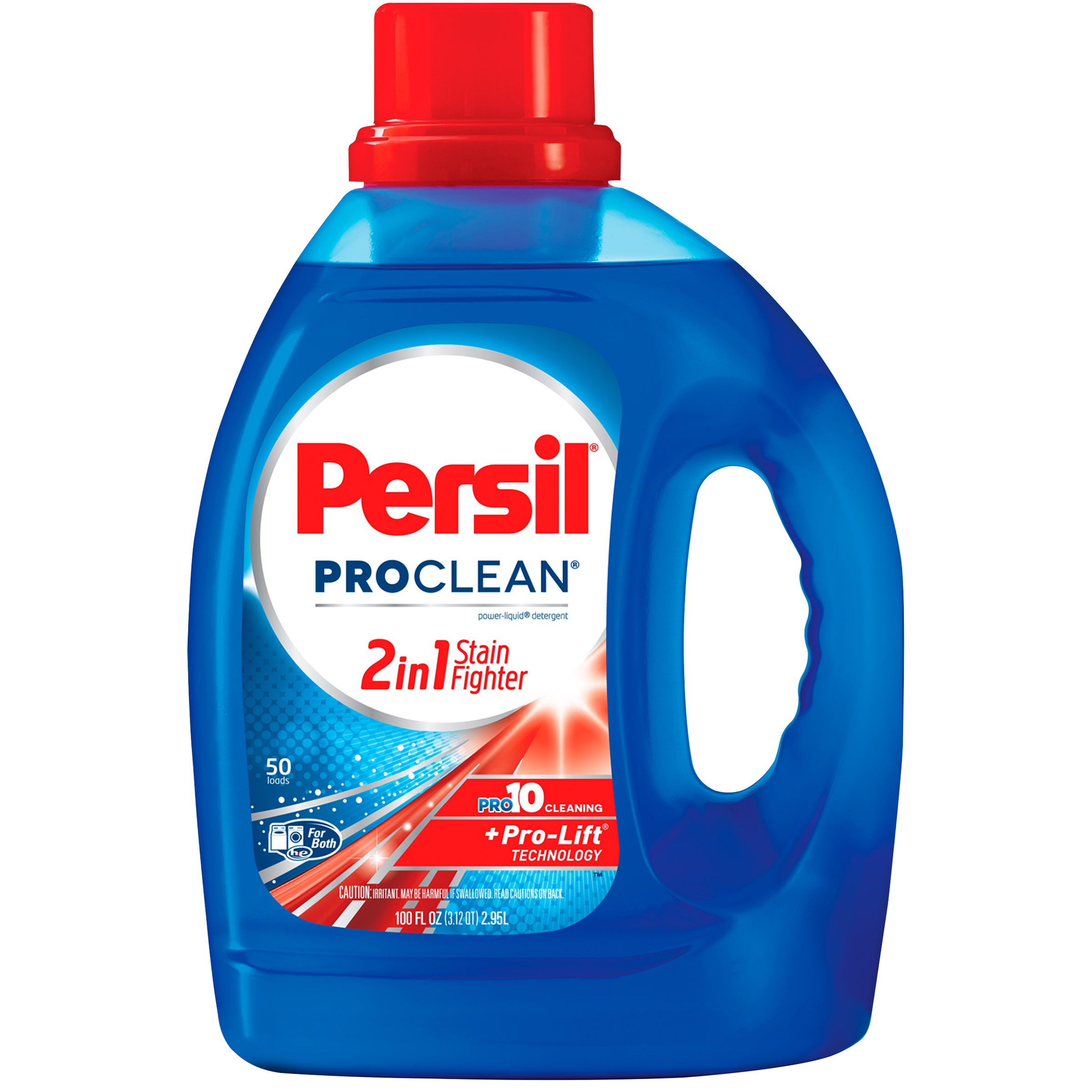 Persil ProClean 2in1 StainFighter Liquid Laundry Detergent, 100 Fluid Ounces, 50 Loads