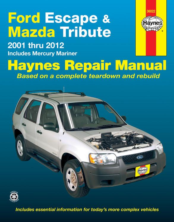 haynes ford escape mazda tribute mercury mariner automotive rh walmart com mazda tribute owners manual 2003 mazda tribute owners manual 2010