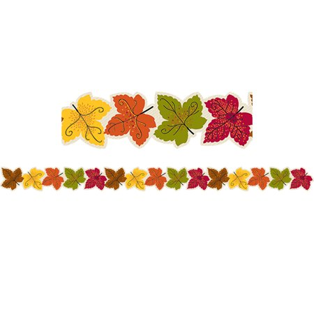 Maple Easels - MAPLE LEAVES BORDER