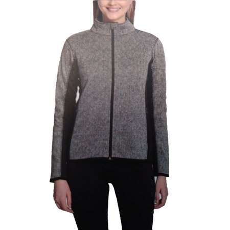 Andrew Marc New York Women Long Sleeve Fleece Lined Full Zip (Marc New York Womens Jacket)