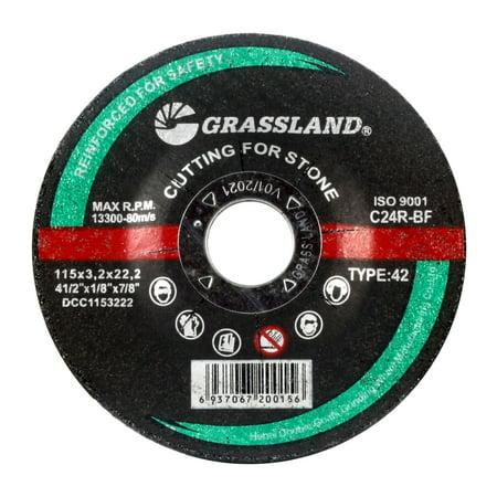 Cutting Disc, Concrete/Masonry/Stone Freehand Cut-off wheel - Depressed Center - 4-1/2